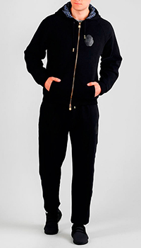Черный спортивный костюм Billionaire с капюшоном, фото