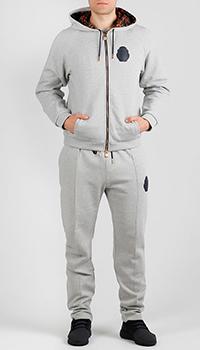 Светло-серый спортивный костюм Billionaire, фото