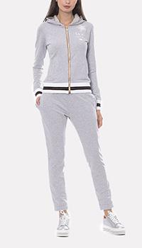 Спортивный костюм Francesca E.Versace светло-серого цвета, фото