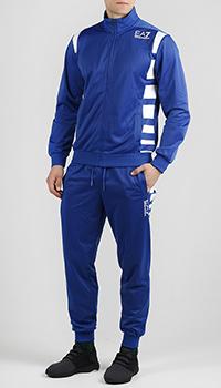 Спортивный костюм Ea7 Emporio Armani с высоким воротником, фото