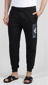 Спортивные брюки Ea7 Emporio Armani с манжетами, фото