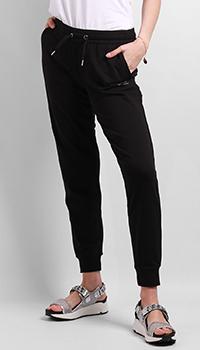 Спортивные брюки Ea7 Emporio Armani со стразами, фото