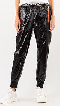 Спортивные штаны Patrizia Pepe черного цвета, фото
