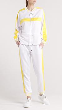 Костюм в спортивном стиле Liu Jo с желтыми вставками, фото