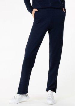 Трикотажные брюки Allude с разрезами, фото