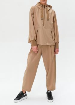 Бежевый костюм Bogner с широкими брюками, фото