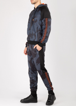 Спортивный костюм Bikkembergs синего цвета, фото