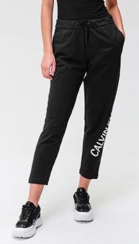 Спортивные брюки Calvin Klein с брендовой надписью, фото