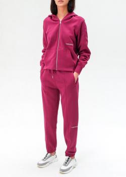 Спортивный костюм Calvin Klein бордового цвета, фото