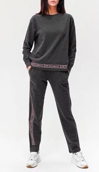 Спортивный костюм Ea7 Emporio Armani с брендовой надписью, фото
