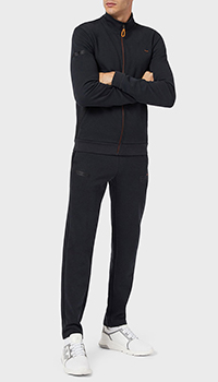 Спортивный костюм Ea7 Emporio Armani темно-серого цвета, фото
