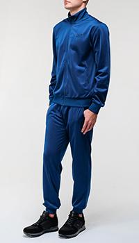 Мужской спортивный костюм Ea7 Emporio Armani синего цвета, фото