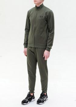 Мужской спортивный костюм Ea7 Emporio Armani цета хаки, фото