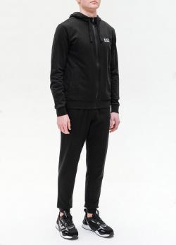 Спортивный костюм Ea7 Emporio Armani черного цвета, фото