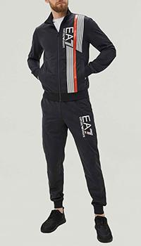 Спортивный костюм Ea7 Emporio Armani с объемным логотипом, фото