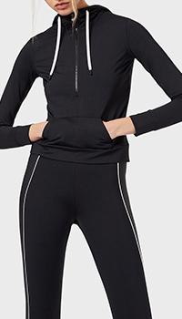 Спортивная кофта Emporio Armani черного цвета, фото