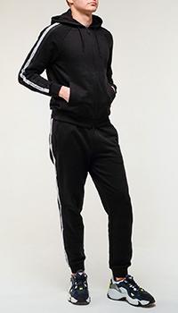 Спортивный костюм Emporio Armani черного цвета, фото