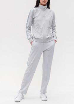 Серый спортивный костюм Emporio Armani с лампасами, фото