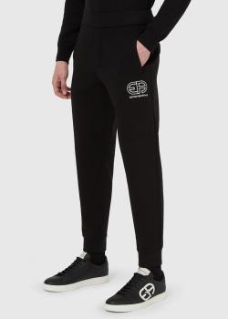 Спортивные брюки Emporio Armani черного цвета, фото