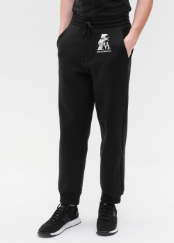 Спортивные брюки Emporio Armani с принтом, фото