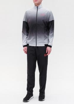 Спортивный костюм Ea7 Emporio Armani с градиентным переходом, фото