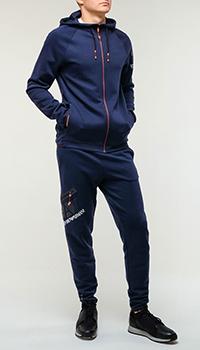Синий спортивный костюм Emporio Armani, фото