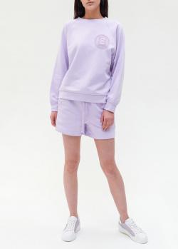 Фиолетовый спортивный костюм Ermanno Ermanno Scervino с шортами, фото