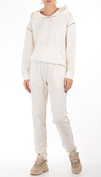 Спортивный костюм GD Cashmere молочного цвета, фото