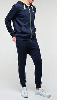 Мужской спортивный костюм Frankie Morello синего цвета, фото