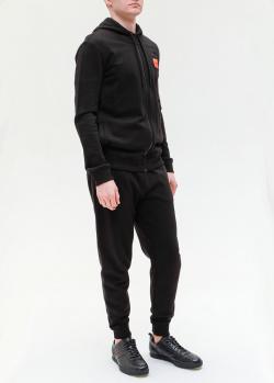 Мужской спортивный костюм Hugo Boss черного цвета, фото