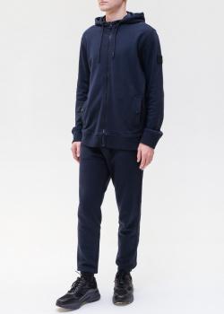 Мужской спортивный костюм Hugo Boss синего цвета, фото