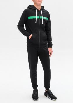 Спортивный костюм Hugo Boss с яркой полосой, фото