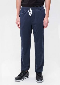 Спортивные штаны Hugo Boss синего цвета, фото