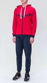 Спортивный костюм Hugo Boss синего и красного цвета, фото
