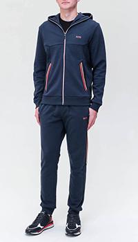 Спортивный костюм Hugo Boss с цветными полосами, фото