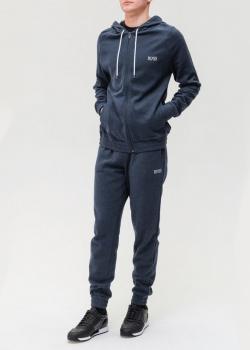 Велюровый спортивный костюм Hugo Boss с капюшоном, фото