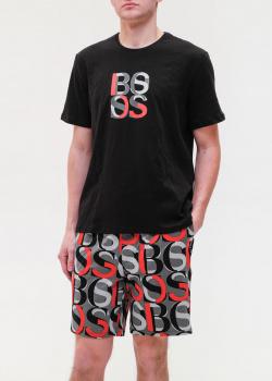 Костюм из хлопка Hugo Boss шорты с футболкой, фото