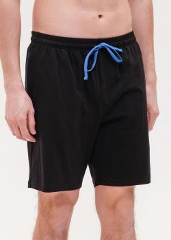 Хлопковые шорты Hugo Boss с контрастными деталями, фото