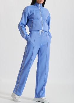 Спортивные брюки Kenzo с брендовыми лампасами, фото