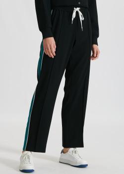 Спортивные брюки Kenzo с зелеными лампасами, фото