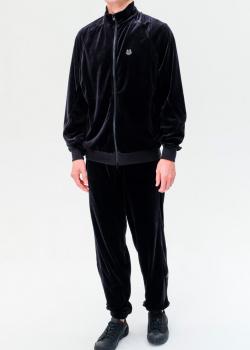 Вельветовый спортивный костюм Kenzo черного цвета, фото