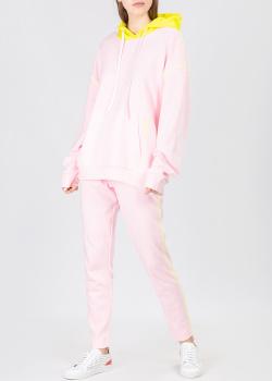 Розовый костюм Iceberg Ice Play с желтыми вставками, фото