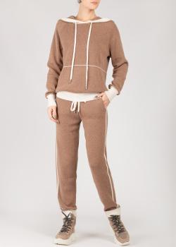 Кашемировый костюм Max&Moi с контрастными манжетами, фото