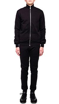 Мужской спортивный костюм Philipp Plein черного цвета, фото