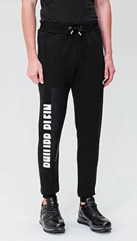 Спортивные брюки Philipp Plein с брендовой надписью, фото