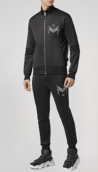 Спортивный костюм Philipp Plein черного цвета, фото