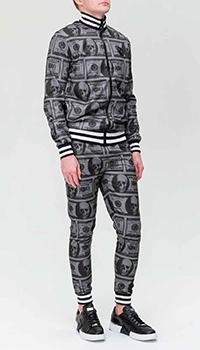 Спортивный костюм Philipp Plein с принтом-долларами, фото