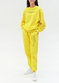 Спортивный костюм Philipp Plein желтого цвета, фото