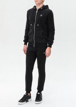 Черный спортивный костюм Philipp Plein с капюшоном, фото