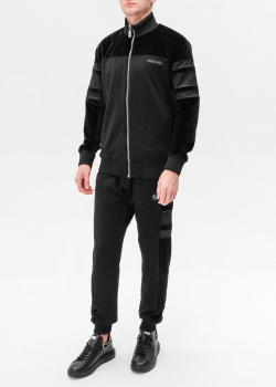 Спортивный костюм Philipp Plein с брендовыми нашивками, фото
